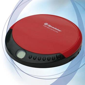 Roadstar PCD-435 Bärbar CD-spelare Röd