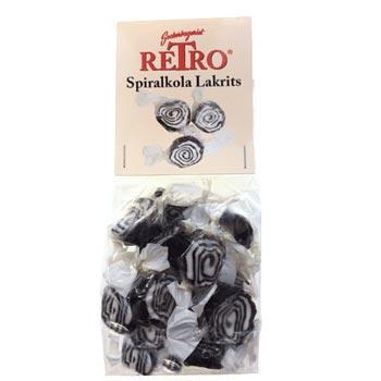 Spiralkola Lakrits / påse 125 g