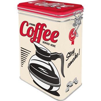 Kaffeburk med retromotiv