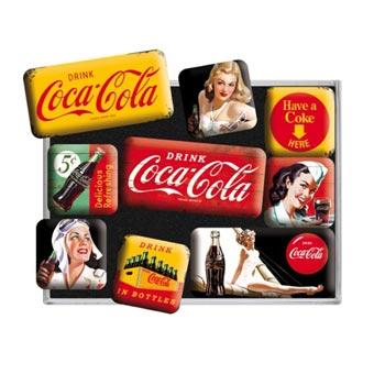 Magnet-set Retro / Coca-Cola