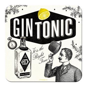 Glasunderlägg Retro / Gin Tonic