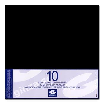 Avdelare för LP Svarta 10-pack 35x32cm