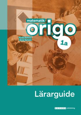 Matematik Origo 1a Lärarguide, Upplaga 2
