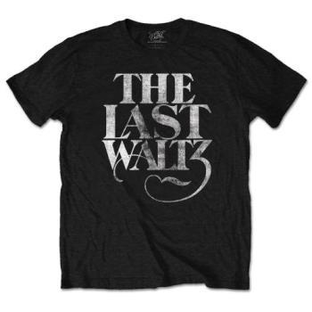 The Band: Unisex T-Shirt/The Last Waltz (Medium)