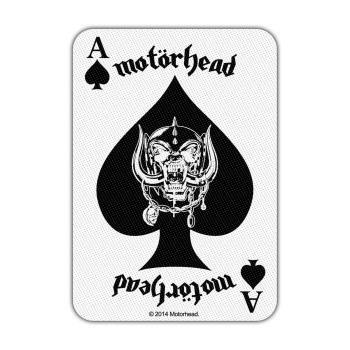 Motörhead: Standard Patch/Ace of Spades Card (Loose)