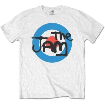 The Jam: Unisex Tee/Spray Target Logo (Retail Pack) (Large)