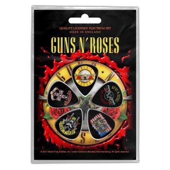 Guns N' Roses: Plectrum Pack/Bullet Logo (Retail Pack)