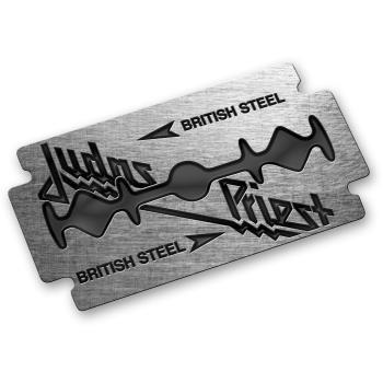 Judas Priest: Pin Badge/British Steel