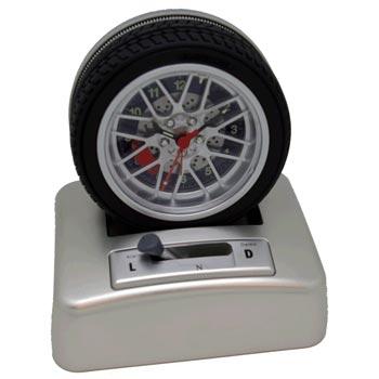 Alarmklocka / Rullande bildäck