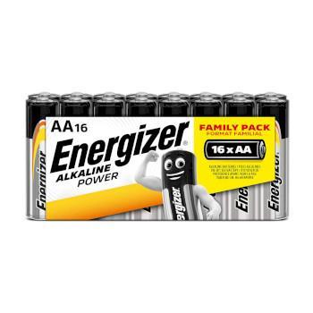 ENERGIZER Batteri AA/LR6 Alkaline Power 16-pack Blister