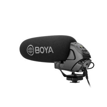 BOYA Mikrofon Shotgun BY-BM3031 3.5mm Kondensator