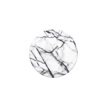 POPSOCKETS Dove White Marble Avtagbart Grip med Ställfunktion