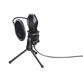 HAMA Mikrofon Stream USB Svart