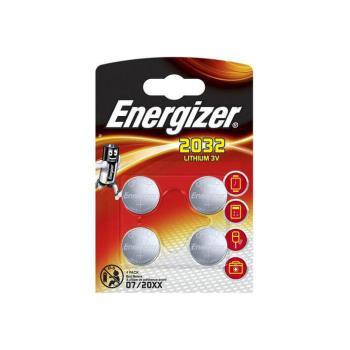 ENERGIZER Batteri CR2032 Lithium 4-pack