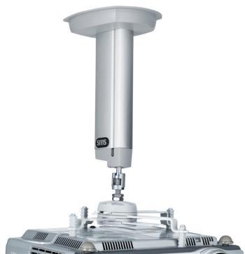 SMS Projector CL F250 incl Unislide, Aluminium/Silver, Max:12 kg