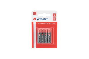 Verbatim AAA Alkaline Batteri, (LR03) 4-pack
