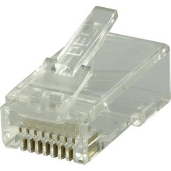 RJ45 kontaktdon för patchkabel, cat6, 20-pack