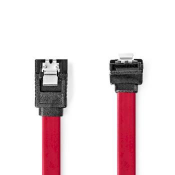 Nedis SATA 3Gb / s kabel | SATA 7-Pin Hona | SATA 7-Pin Hona | PVC | 0.50 m | Platt | PVC | Röd | Plastpåse