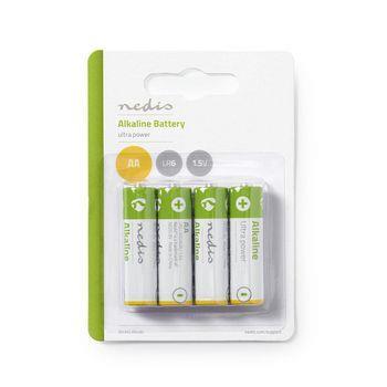 Nedis Alkaline Batteri AA | 1.50 V | 4 st. | Blister