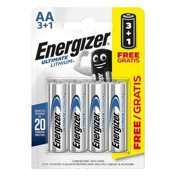Energizer Ultimate lithium battery AA/FR6 1.5 V