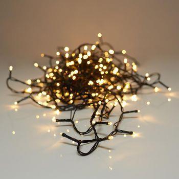 S.I.A Ljusslinga Utomhus LED 40 varmvita lampor