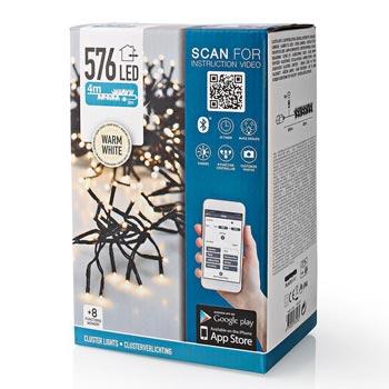 S.I.A Ljusslinga Kluster LED 576st Med App