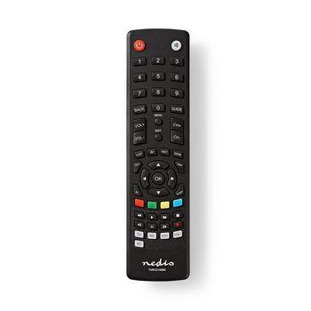 Nedis Universalfjärrkontroll | Förprogrammerad | Antal enheter: 4 | Minnesknappar / TV Guide-knapp | Infraröd | Svart