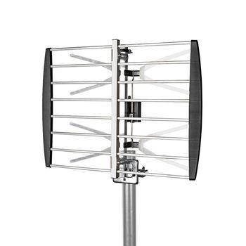 Nedis Utomhusantenn | UHF | Mottagningsområde: -50 Km | LTE700 | Förstärkning: 8 dB | 75 Ohm | Antenn längd: 407 mm