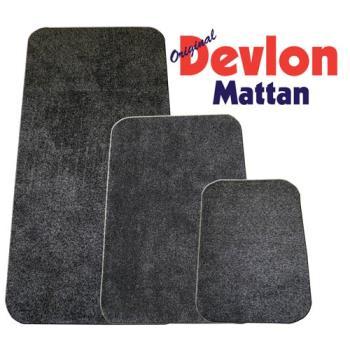 Devlon Devlonmatta 75X150 cm Grå
