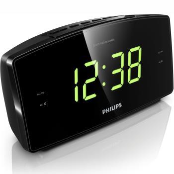 Philips: Klockradio Stor skärm