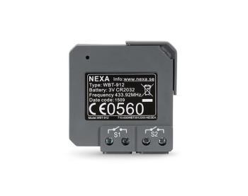 NEXA WBT-912 2-kanals infälld sänd