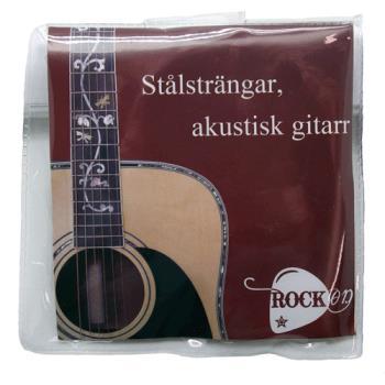 Stålsträngar Akustisk gitarr / RockOn