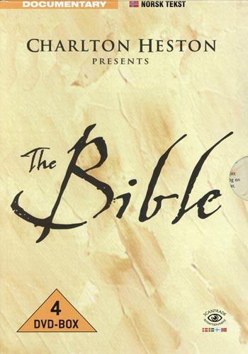 Bible / Presented by C Heston (Norskt omslag)